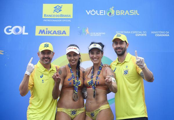 Ágatha/Duda faturam o Circuito Brasileiro