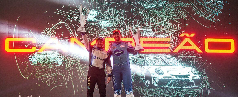 Porsche: bicampeonato para Léo e Átila