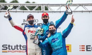 Título de Léo Sanchez e Átila Abreu na GT4 do Endurance Brasil