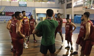Basquete abre quadrangular final