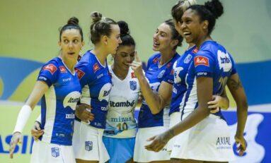 Vôlei: Copa Brasil feminina começa nesta terça