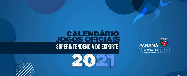Definido calendário dos Jogos Oficiais