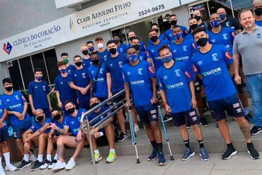 Azuriz inicia pré-temporada para o Paranaense 21