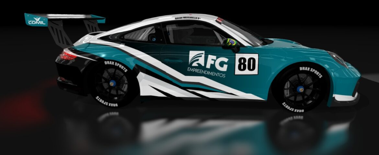 Raijan confirma apoios e vai acelerar na Porsche Cup