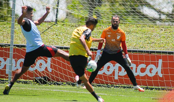 Athletico terá folga antes do jogo com o Corinthians