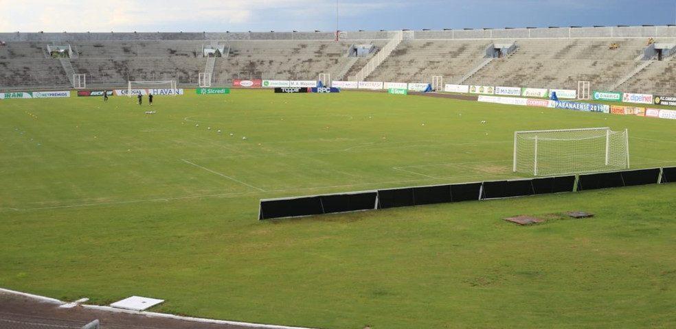 Prefeitura veta jogo no Olímpico