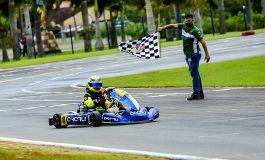Kart: Ibiapina celebra título da etapa do SPR