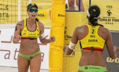 Paranaense leva bronze no Mundial de Beach Volley
