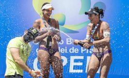 Ágatha e Duda garantem mais  um título Brasileiro