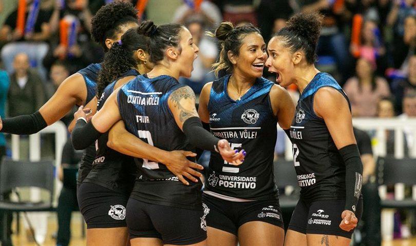 Superliga: Curitiba Vôlei avança para as quartas