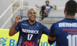 Araucária estreia segunda nos playoffs da Superliga