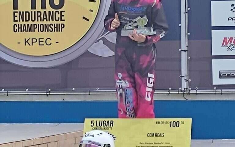 Kart: Marinoski vai ao pódio no Endurance