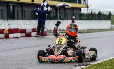 Kart: Moleiro é Top3 no Open do Sul-Brasileiro