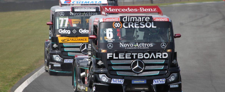 Copa Truck: sábado de disputas quentes em Curitiba